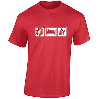 Eat Sleep Fast Food Mens T-Shirt 10 Colours (S-3XL) by swagwear