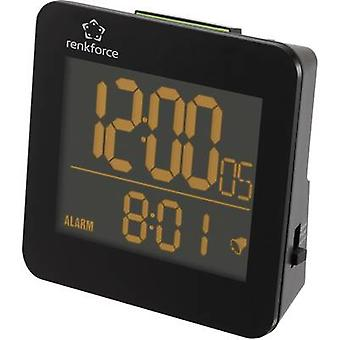 Renkforce RC223 Radio Alarm clock Black Alarm times 1