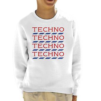Techno Tesco Logo Kid's Sweatshirt