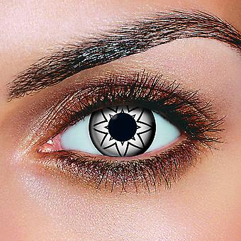 Big Eye Starry Eyes Black Contact Lenses (Pair)