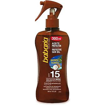 Babaria Gun oil Sunscreen monoi tahiti F15 300 ml