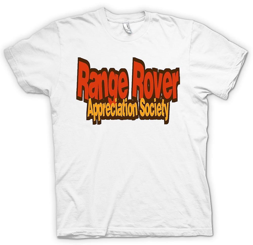T-shirt Femmes - Range Rover Appreciation Society