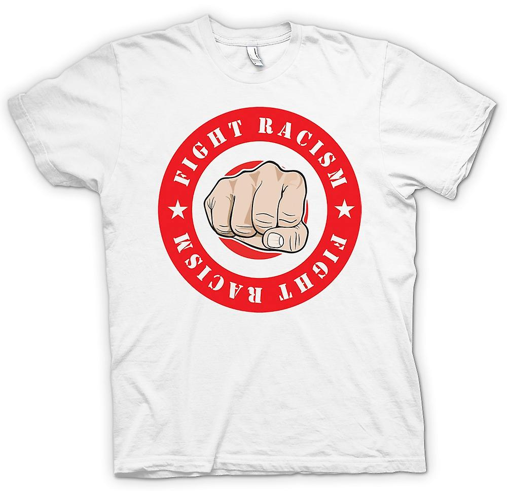 Womens T-shirt - Fight Racism Logo - Cool