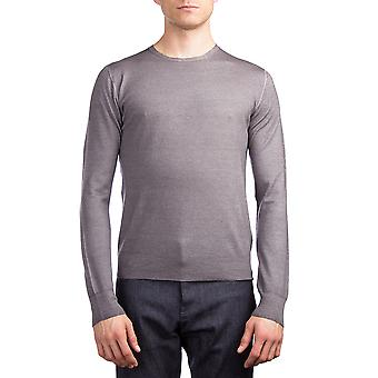 Laine Crewneck Sweater gris Prada homme