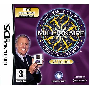 Hvem vil være millionær - 2. udgave (Nintendo DS)