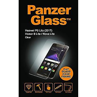 Huawei 社 P8 Lite 2017 PanzerGlass クリスタル クリア スクリーン プロテクター