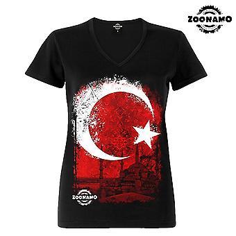 Zoonamo T-Shirt ladies Turkey of classic