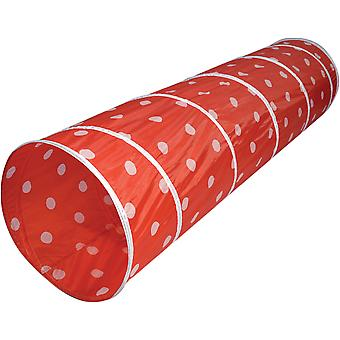 Spirit of Air Kids Kingdom Play Tunnel Polka Dot Red