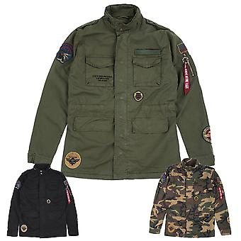 Alpha industries giacca patch di Huntington