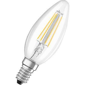 OSRAM LED EEC A++ (A++ - E) E14 Candle 4 W = 37 W Warm white (Ø x L) 35 mm x 99 mm Filament 1 pc(s)
