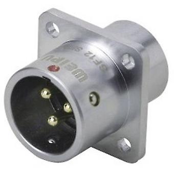 Weipu SF1213/P3 Bullet connector Plug, straight Series (connectors): SF12 Total number of pins: 3 1 pc(s)