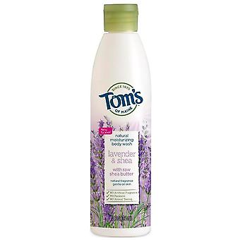 Tom's Of Maine Natural Body Wash, Lavender And Shea, 12 Oz