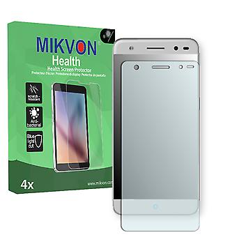 ZTE Blade V7 Lite Screen Protector - Mikvon Health (Retail Package with accessories) (intentionally smaller than the display due to its curved surface)