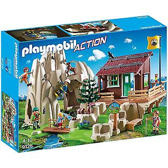 Playmobil 9126 escaladores con cabina