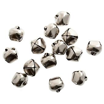 9 Silver 10mm Jingle Bells for Crafts | Craft Bells