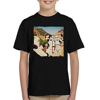 Ursprungliga Stormtrooper Selfie muren Kid's T-Shirt