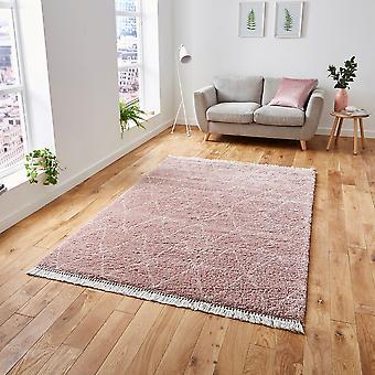 Boho 8280 Rose rechthoek tapijten Plain/bijna gewoon tapijten