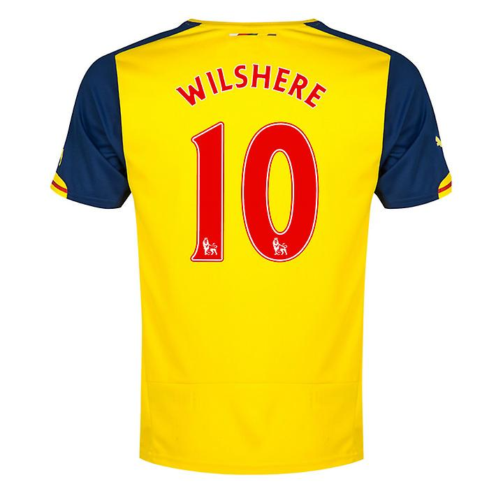 2014-15 Arsenal Away Shirt (Wilshere 10) - Kids