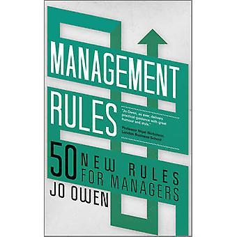 Management Rules - 50 New Rules for Managers by Jo Owen - 978085708221