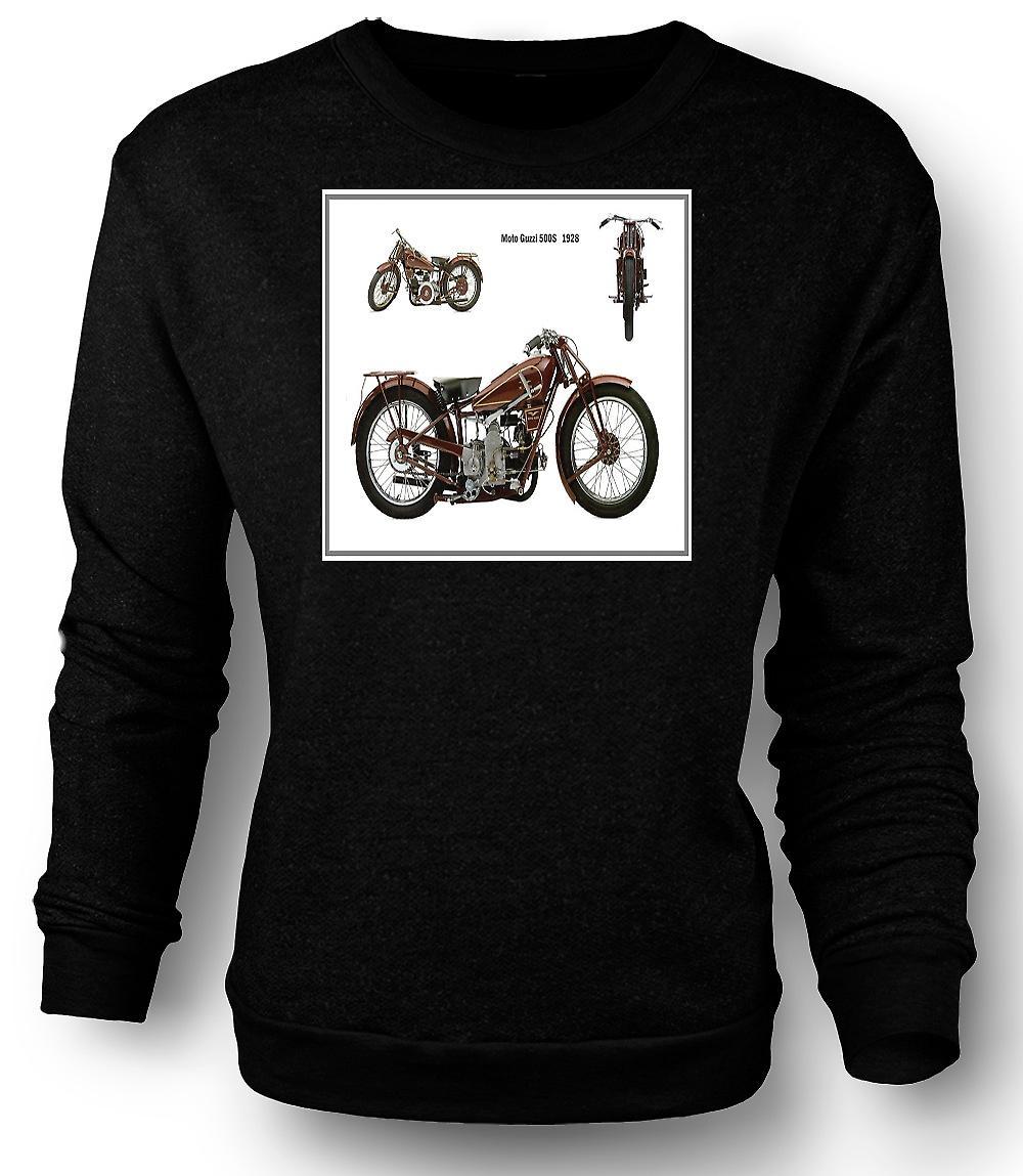 Moto Guzzi 500 de mens Sweatshirt 1928 Classic Bike
