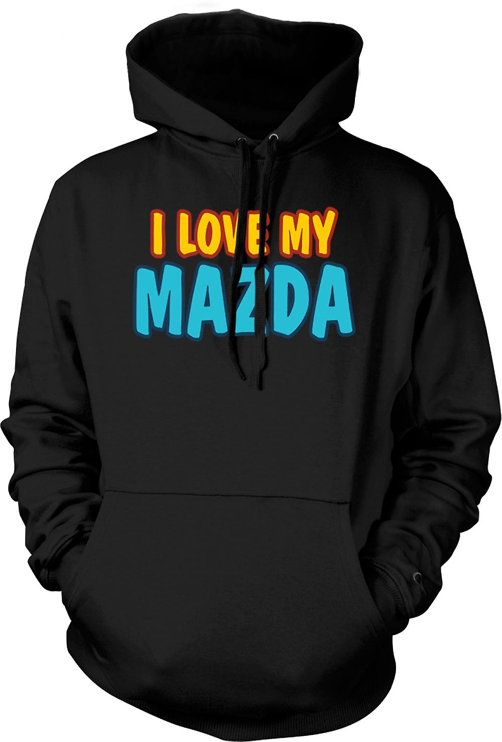 Kids Hoodie -  I Love My Mazda - Car Enthusiast
