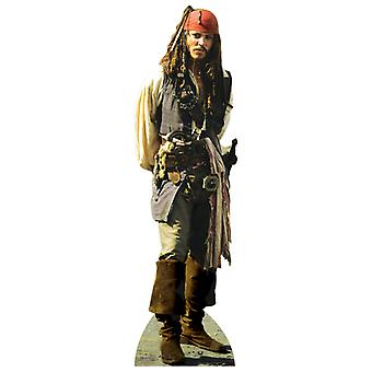 Captain Jack Sparrow  Lifesize Cardboard Cutout / Standee - Johnny Depp / Pirates Of The Caribbean