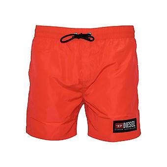 Diesel Diesel Wave Neon Orange Swim Short