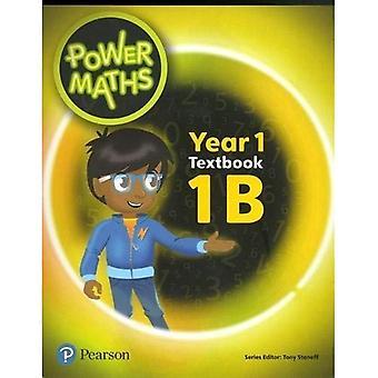Power Maths Year 1 Textbook 1B (Power Maths Print)