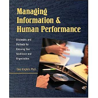 Managing Information and Human Performance