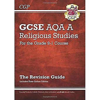 Nuevo grado 9-1 GCSE estudios religiosos: AQA una revisión guía con edición en línea