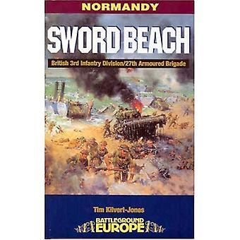 Normandía: Espada playa - 3ª División británica / 27 brigada (campo de batalla Europa) blindada