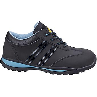 Amblers Womens AS713 Lace Up Steel Toe Cap Safety Trainers