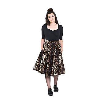 Hell Bunny Panthera 50's Skirt XS