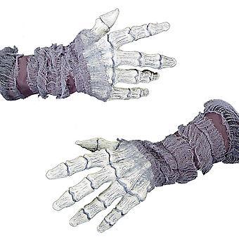 Gasa de manos fantasmales huesos