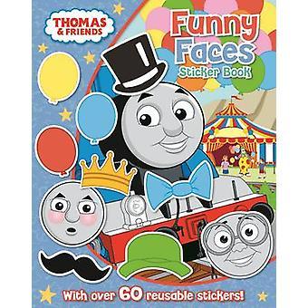 Thomas & Friends-lustige Gesichter Sticker Book-9781405276580 Buch