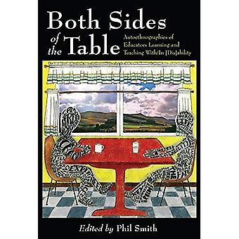 Ambos lados de la mesa