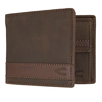 Camel active męskie portfel portfel portmonetka z chipów RFID ochrony Brown 7308