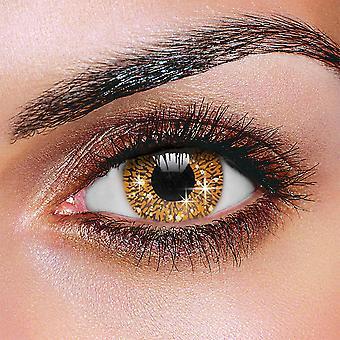 Glimmer Hazel Contact Lenses (Pair)