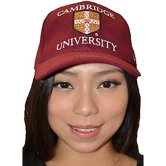Licentie Cambridge University™ Baseball Cap Maroon kleur