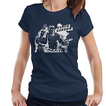 Flash Gordon Dale Sketch Art Women's T-Shirt