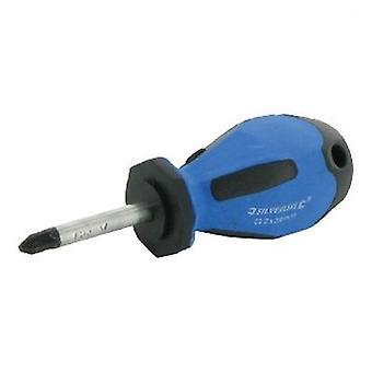 Silverline Pozidriv skrutrekker gummed nr. 2 x 100 mm (DIY, verktøy, Handtools)