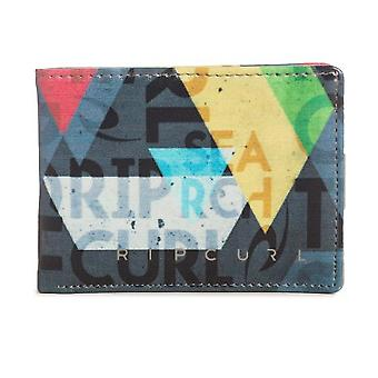 Alle Tag Print Faux Leather Wallet