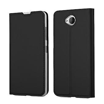 Cadorabo Hülle für Nokia Lumia 650 Case Cover - Handyhülle mit Magnetverschluss, Standfunktion und Kartenfach – Case Cover Schutzhülle Etui Tasche Book Klapp Style
