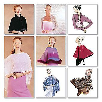 Misses' Evening Cover  Ups  All Sizes In One Envelope Pattern M3033  Osz