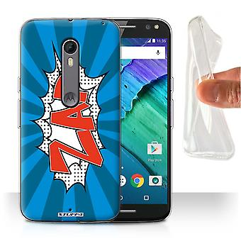 STUFF4 Gel/TPU/housse pour Motorola Moto X Style Zap/BD/dessins animés/paroles