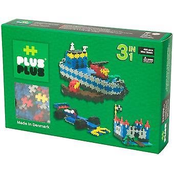 Mini Basic Plus-Plus 3 in 1: 480 stuks