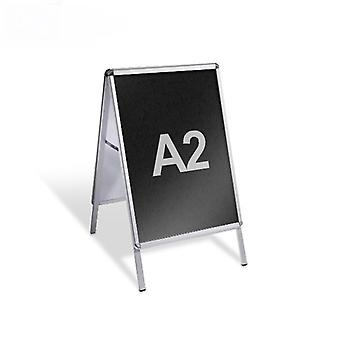 A2 A-Board bestrating Sign - PVC schoolbord invoegen