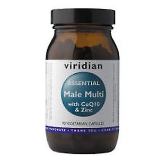 Viridian Multi Essential For Men With Coq10 And Zinc 90 Vegetable Capsules