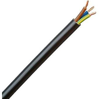 Cable flexible H05VV5-F 3 G 1.5 mm² negro Kopp 153705007 5 m
