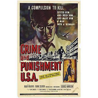 Crime et châtiment USA Movie Poster Print (27 x 40)